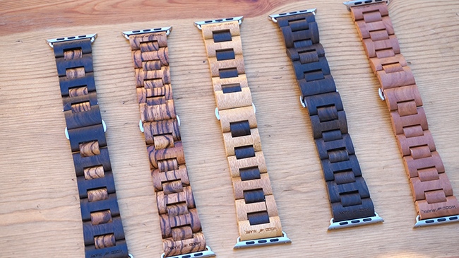 wood mark watch bands