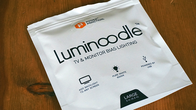 luminoodle bias lighting
