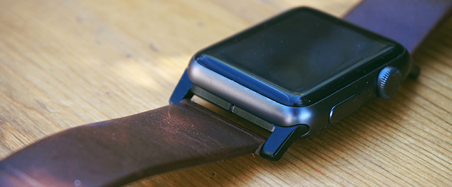 nomad modern apple watch band